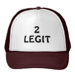 LEGIT, 2 TRUCKER HAT