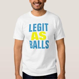 Legit como bolas playeras