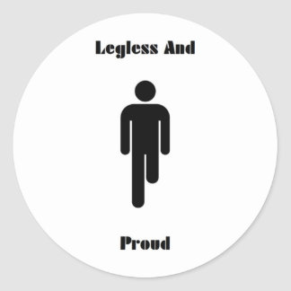 Legless And Proud Sticker