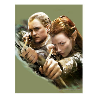 Legolas and TAURIEL™ Graphic Post Cards