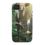 Legolas con el arco iPhone 4/4S fundas