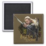 Legolas Drawing Bow Graphic Fridge Magnet