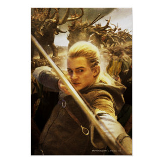 Legolas Drawing His Bow Posters