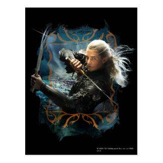 Legolas Graphic Post Card