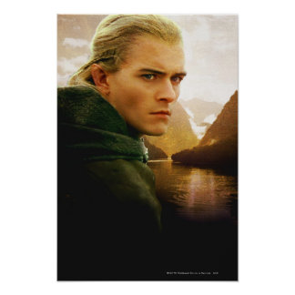 LEGOLAS GREENLEAF™ 3/4 Profile Poster