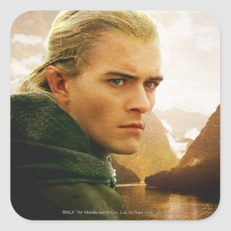 LEGOLAS GREENLEAF™ 3/4 Profile Square Sticker