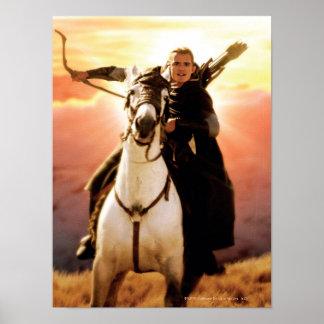 LEGOLAS GREENLEAF™ a caballo Póster