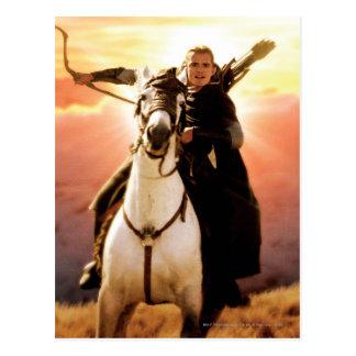 LEGOLAS GREENLEAF™ a caballo Tarjetas Postales