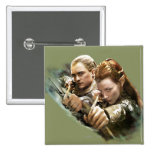 LEGOLAS GREENLEAF™ and TAURIEL™ Graphic Buttons