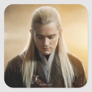 LEGOLAS GREENLEAF™ Character Poster 2 Square Sticker