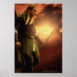 LEGOLAS GREENLEAF™ con el arco Posters