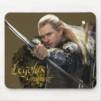 LEGOLAS GREENLEAF™ Drawing Bow Graphic Mouse Pad