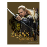LEGOLAS GREENLEAF™ Drawing Bow Graphic Post Cards