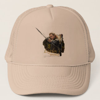 LEGOLAS GREENLEAF™ Drawing Bow Graphic Trucker Hat