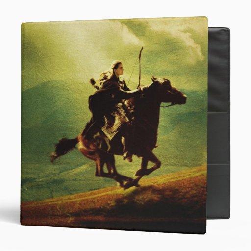 "LEGOLAS GREENLEAF™ en caballo Carpeta 1 1/2"""