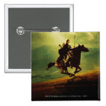 LEGOLAS GREENLEAF™ en caballo Pin Cuadrada 5 Cm