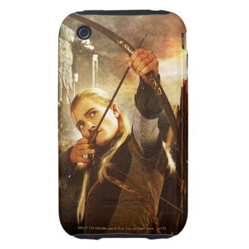 LEGOLAS GREENLEAF™ en la acción Tough iPhone 3 Cárcasa