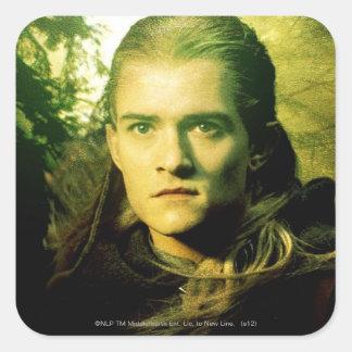 LEGOLAS GREENLEAF™ Front Portrait Square Sticker