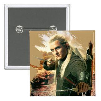 LEGOLAS GREENLEAF™ Graphic 2 Pinback Button