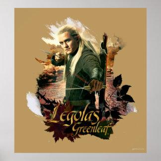 LEGOLAS GREENLEAF™ Graphic 2 Poster