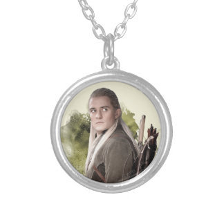 LEGOLAS GREENLEAF™ Graphic Silver Plated Necklace