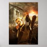 LEGOLAS GREENLEAF™ in Action Poster