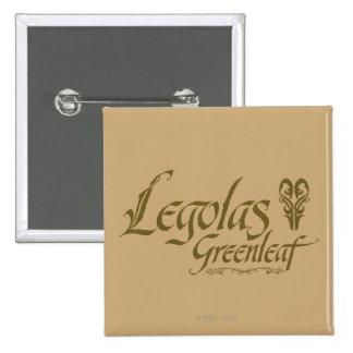 LEGOLAS GREENLEAF™ Name Button