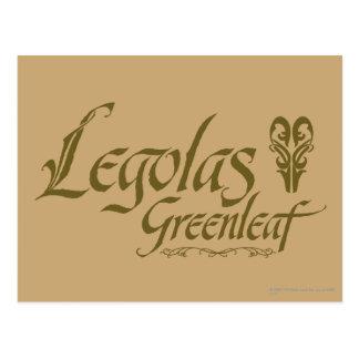 LEGOLAS GREENLEAF™ Name Postcard
