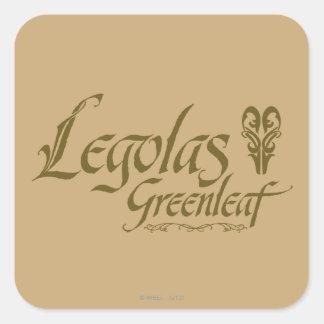 LEGOLAS GREENLEAF™ Name Square Sticker