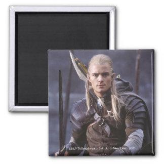 LEGOLAS GREENLEAF™ on Horse 2 Inch Square Magnet