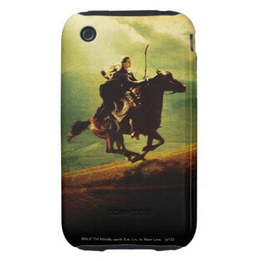 LEGOLAS GREENLEAF™ on Horse iPhone 3 Tough Covers