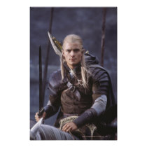 LEGOLAS GREENLEAF™ on Horse Poster