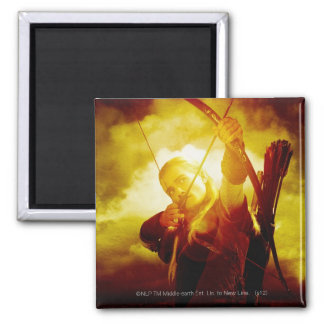 LEGOLAS GREENLEAF™ Shooting Arrow 2 Inch Square Magnet