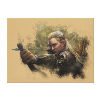 LEGOLAS GREENLEAF™ Sketch Canvas Print