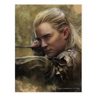 LEGOLAS GREENLEAF™ Sketch Postcard