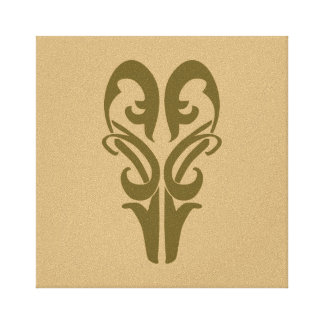 LEGOLAS GREENLEAF™ Symbol Canvas Print