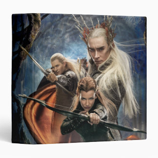 LEGOLAS GREENLEAF™, TAURIEL™, and Thranduil 3 Ring Binder