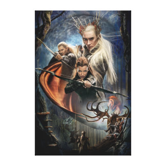 LEGOLAS GREENLEAF™, TAURIEL™, and Thranduil Canvas Print