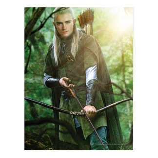 LEGOLAS GREENLEAF™ with bow Postcard