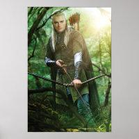 LEGOLAS GREENLEAF™ with bow Poster