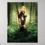 Legolas Nocking the Arrow Posters