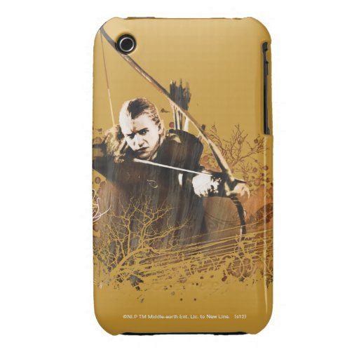 Legolas Shooting Arrow iPhone 3 Cases