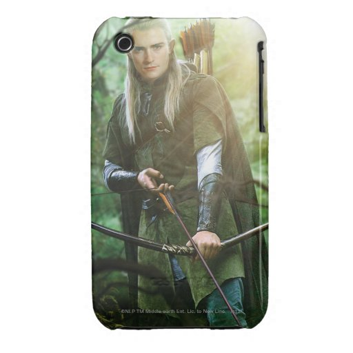 Legolas With bow iPhone 3 Cases