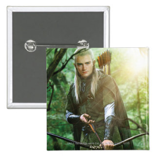 Legolas With bow Pinback Buttons