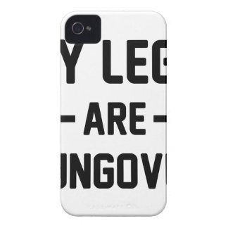 Legs Are Hungover Case-Mate iPhone 4 Case