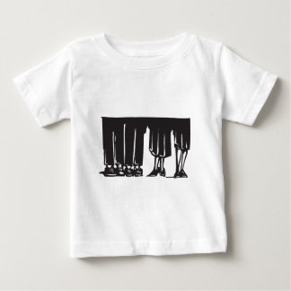 Legs at a Party Baby T-Shirt