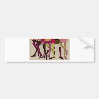 Legs Bumper Sticker