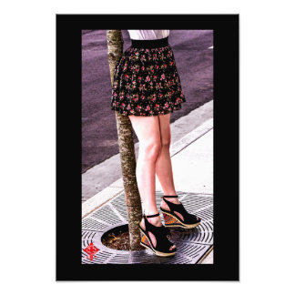 Legs Photo Print