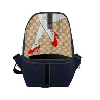 Legs Small Messenger Bag