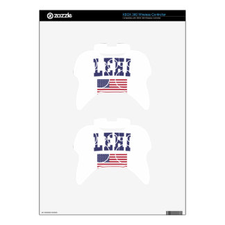 Lehi US Flag Xbox 360 Controller Decal